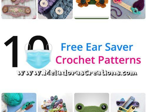 10 Free Ear Savers Crochet Patterns – Crochet Round up
