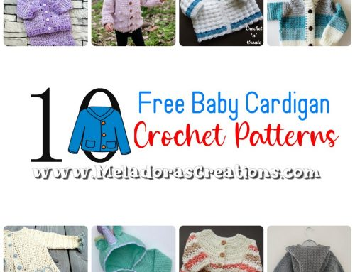 10 Free Baby Cardigan Crochet Pattern – Crochet Round up