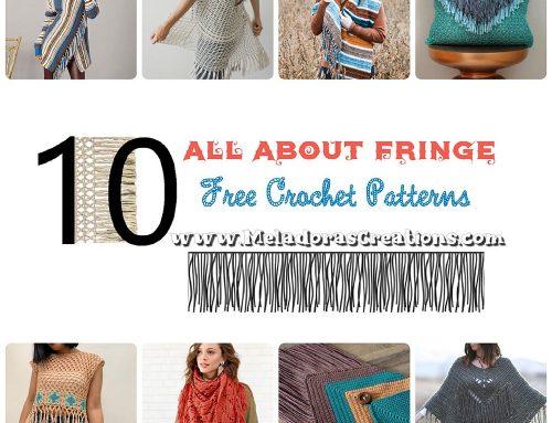 10 All About Fringe – Boho Crochet Patterns – Free Crochet Pattern Link blast
