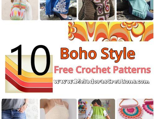 10 Boho Chic Crochet – Free Crochet Patterns – Free Crochet Link blast