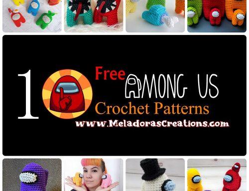 10 Free Among Us Crochet Pattern Round Up