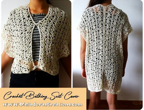 Crochet Bathing Suit Cover Pattern – Free Crochet Bathing Suit cover up Pattern