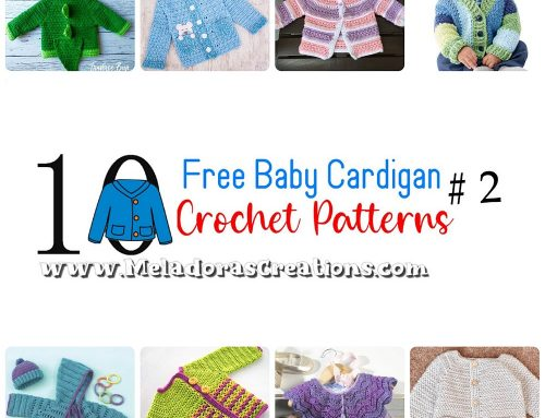 10 Free Baby Cardigans #2 – Crochet Pattern Round up