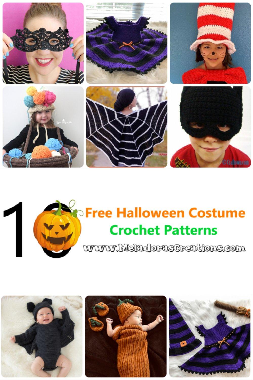 10 kostenlose Halloween-Kostüm-Häkelanleitungen - Crochet Link Blast