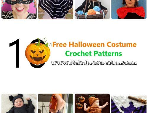 10 Free Halloween Costume Crochet Patterns – Crochet Link Blast