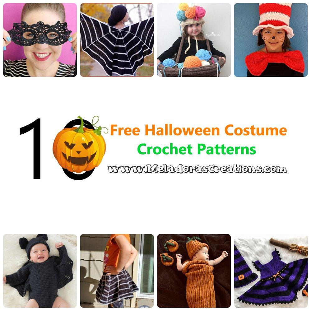 10 Free Halloween Costume Crochet Patterns - Crochet Link Blast